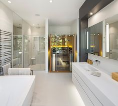 Plains Of Abraham, Architecture Design, Washroom, Bathtub, House Design, Interior Design, Home, Bath, Standing Bath