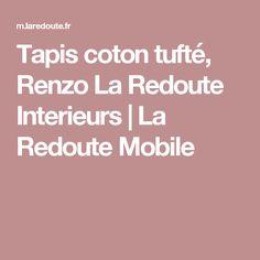 Tapis coton tufté, Renzo La Redoute Interieurs | La Redoute Mobile