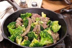 Un savoureux et délicieux boeuf-brocoli