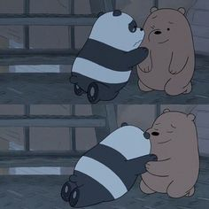 Moon I miss you sweetheart 💙☹ Funny Panda Pictures, Panda Funny, Cute Panda, We Bare Bears Wallpapers, Panda Wallpapers, Cute Cartoon Wallpapers, Bear Wallpaper, Wallpaper Iphone Cute, Disney Wallpaper