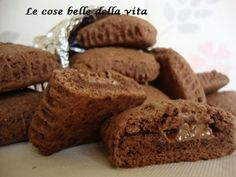 Ricetta Quadrotti ripieni al cioccolato, da Giovanna317 - Petitchef