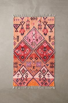 Shop Aziza Printed Chenille Rug at Urban Outfitters today. We carry all the latest styles, colors and brands for you to choose from right here. Diy Hat Rack, Classic Rugs, Boho Stil, Textiles, Chenille, Decoration, Bohemian Rug, Boho Rugs, Bohemian Style