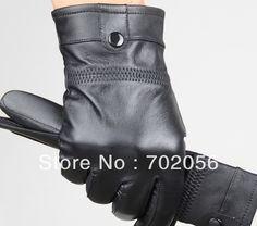 just arrival Mens real Leather gloves leather GLOVE gift accessory high quality 12pair/lot #3160