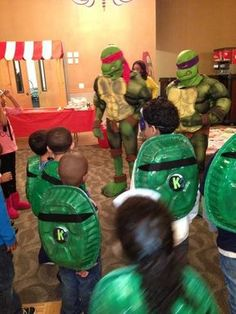 Teenage Mutant Ninja Turtles Birthday Party Ideas | Photo 1 of 39 | Catch My Party: