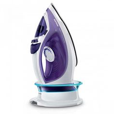 Philips EasySpeed Plus Cordless Steam Iron with Compact SmartCharging Base Iron Reviews, Steam Generator, Steam Iron, Water Tank, Compact, Stuff To Buy, Base Online, Irons