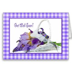 purple get well cards - Google Search