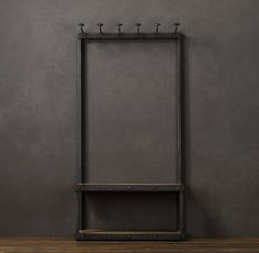 Coat Rack Bench 3'  via Restoration Hardware