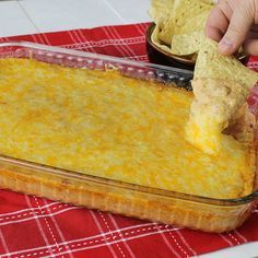 Stop the search! Youandrsquo;ve found the ultimate ooey, gooey, cheesy bean dip that's all the rage at game-day parties and social gatherings.