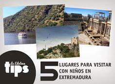 #EDUTIPS | 5 lugares para visitar con niños en Extremadura
