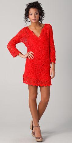 PJK Patterson J. Kincaid Dora Crochet Dress | SHOPBOP