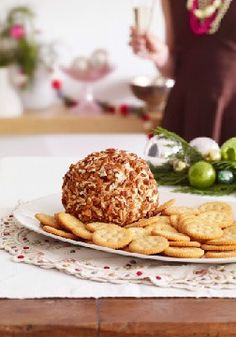 Classic ROKA Cheese Ball – Take a trip down memory lane: This Classic ROKA Cheese Ball, studded with dried cranberries and chopped pecans, tastes as good as you remember.