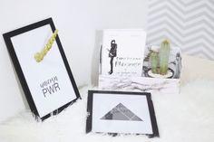 E mais uma vez o Pinterest foi uma das minhas grandes fontes de inspiração e me ajudou a fazer três coisas super bacanas para uma decor...