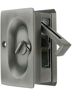 Bathroom THUMB turn Toilet  Door Lock Catch WC Privacy fire rated satin
