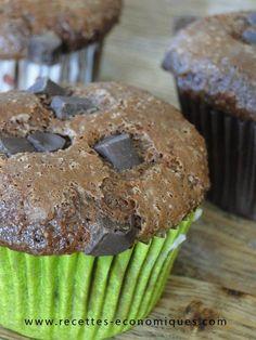 Muffins chocolat : la meilleur recette (thermomix ou pas)