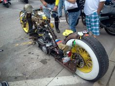 Sturgis 2013 rat rod bike