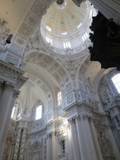 """by-grace-of-god: """" Theatine Church, Munich, Germany panoramic view, high resolution """""""