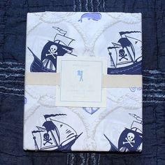 blue pirate sheets