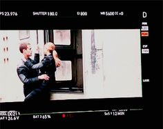 Yo yo yo was this kiss for real??? Like the director called cut and Theo let go of the train(he would fall off in the movie) and the kiss was super quick. Do I smell~Sheo~???