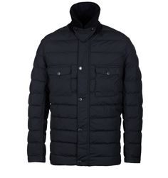 Barbour Benthos Navy Fibredown Jacket