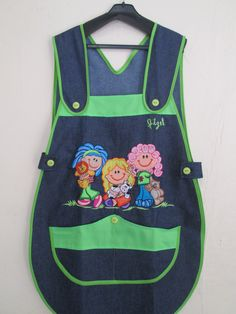 Adult bibs, look like aprons Adult Bibs, Disney Mickey Mouse, Jumper, Patches, Baby Shower, Sewing, Kids, Aprons, Fashion