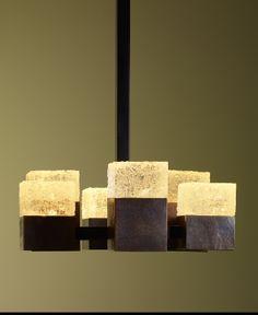 Saffron Interior Arts, Robert Kuo, Crystal Ceiling Light.