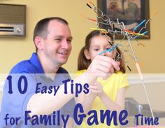 Connect with Your Kids – 10 Easy Tips for Family Game Time
