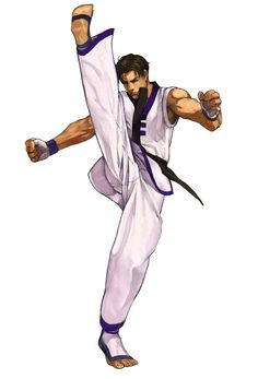 Kim Kaphwan Art - King of Fighters 2001 Art Gallery King Of Fighters, Character Poses, Game Character Design, Character Art, Art Of Fighting, Fighting Games, Video Game Characters, Comic Book Characters, Samurai