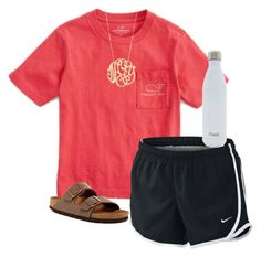 """Awesome Summer Outfits With Shorts """"Untitled #9"""" by ellac-beard on Polyvore featuring Vineyard Vines, NIKE, Ginette... Check more at http://24shopping.cf/my-desires/summer-outfits-with-shorts-untitled-9-by-ellac-beard-on-polyvore-featuring-vineyard-vines-nike-ginette/"""