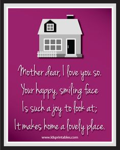 More Mother's Day Printables!