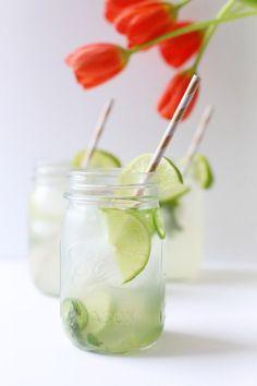 Mint Jalapeño Margarita by @cydconverse for @skinnygirl