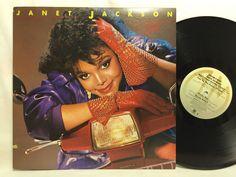 Janet Jackson - Dream Street - Vinyl Record Album LP - Pop - A&M # SP 4962