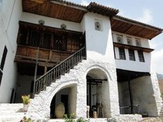 Not too far away from the Kruje Castle and Skanderbeg National Museum is the National Ethnographic Museum featuring cultural exhibitions of Albanian traditional National Museum, Traditional, Mansions, The Originals, House Styles, Google Search, Home, Decor, Albania