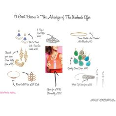 10 Reasons to Shop with Stella & Dot this Weekend by stylemebynaddyj on Polyvore featuring Stella & Dot