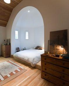 alcove+bedroom