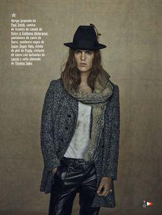 "mensfashionworld: ""Travis Smith by Sergio Pons for GQ España """