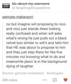I imagine Jason purposefully setting them up to propose on the same night.