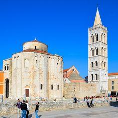 Die St. Donatus-Kirche in Zadar, Kroatien