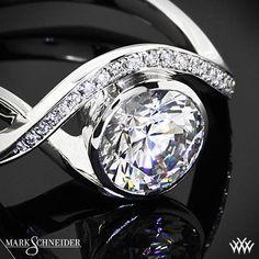 Mark Schneider Aurora Diamond Engagement Ring