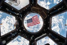 Como votam os astronautas?