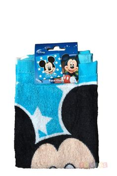 Tolukette Mickey Mickey bleu | #Toluki http://www.toluki.com/prod.php?id=651 #débarbouillette #enfant