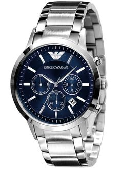 598743557d0 EMPORIO ARMANI CLASSIC RENATO CHRONOGRAPH GENTS WATCH AR2448 £329.00  Fashion meets function with this chronograph