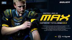 Protégez-vous au #MAX avec les protections #Bauer #SupremeMX3 // Prochainement disponible.