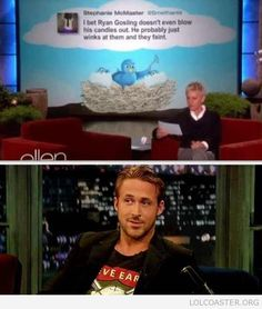 Ryan Gosling. I think this theory could be valid.