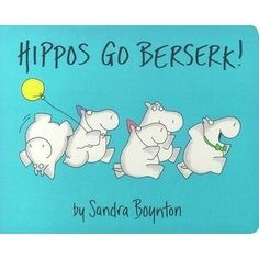 Hilarious hippos make a party out of counting in this Sandra Boynton classic.Here is the classic Boynton counting story in a sturdy, boar...