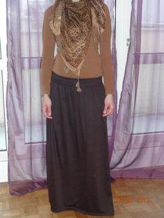 leopard hijab style
