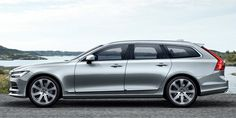 The Volvo S90 finally gets an official wagon version, and it looks great.