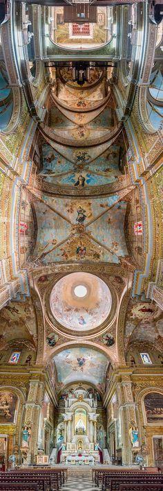 Iglesia De La Merceo, Habana, Cuba - Nunca Viste Techos De Iglesias Tan Espectaculares Como Estos