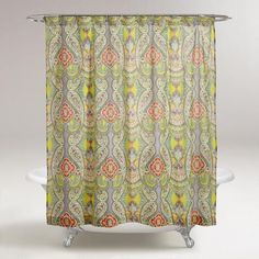 One of my favorite discoveries at WorldMarket.com: Venice Shower Curtain