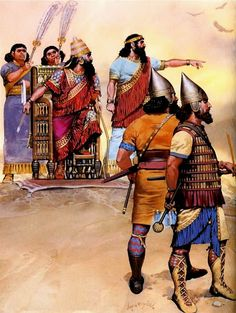 Asiria - Senaquerib en Lachish 701 a.C.