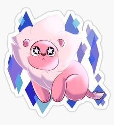 'SU - Starry Eyed Lion ' Sticker by SharpieSam <br> Take home Steven's loyal pet Lion! Now with his signature starry eyes as he gazes into the galaxy! Steven Universe Wallpaper, Steven Universe Stickers, Steven Universe Leon, Steven Universe Characters, Steven Universe Personajes, Pet Lion, Steven Univese, Lion Wallpaper, Anime Stickers